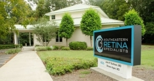Southeastern Retina Specialists Front Office Sign